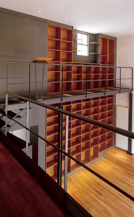 christian girard biblioth que priv e by christian girard. Black Bedroom Furniture Sets. Home Design Ideas