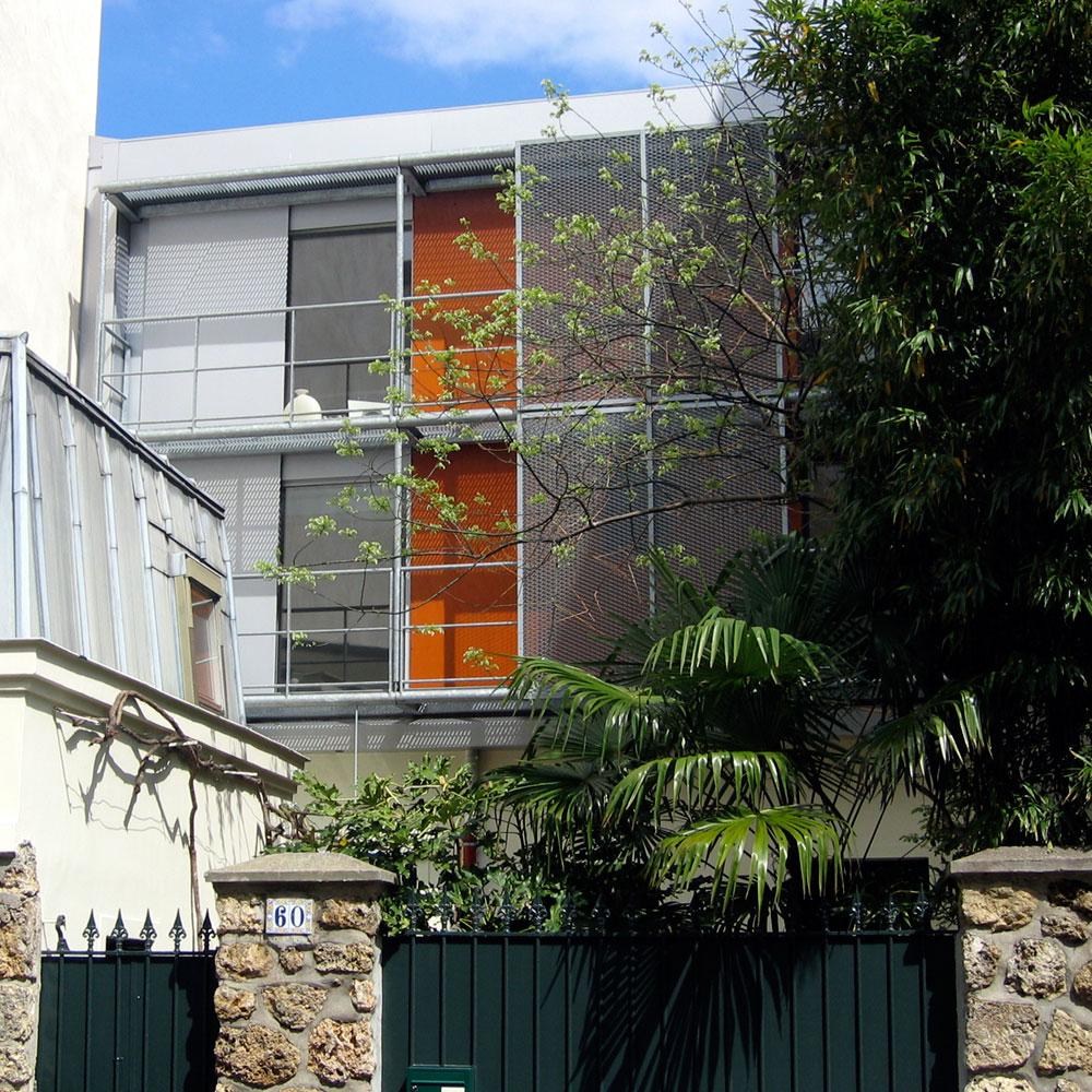 Maison Ize House Paris Atelier d'Architecture Christian Girard